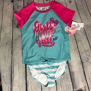 Jojo Siwa two piece Swimsuit New